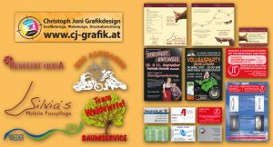 Grafikdesign von Christoph Joni Grafikdesign - Webdesign - Druckabwicklung - www.cj-grafik.at