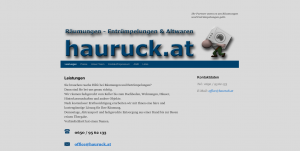 hauruck.at - Homepage