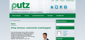 www.putz.at - Homepage